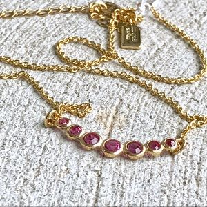 Kate Spade Dainty Sparklers Necklace NWT